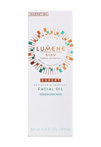 Lumene - NORDIC DETOX [SISU]RECOVER & PROTECT FACIAL OIL 30ML - Olejek do twarzy - - - 1