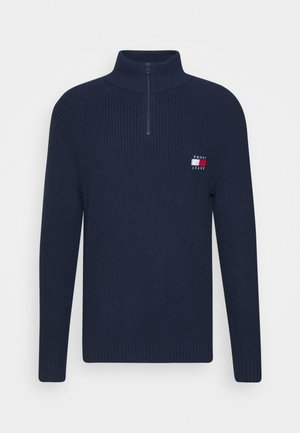 BADGE HALFZIP - Maglione - twilight navy
