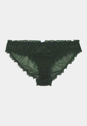 CARLA SHINE BRIEF - Briefs - green