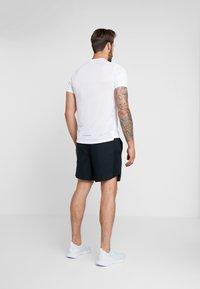 Nike Performance - AIR CHALLENGER SHORT - Sports shorts - black/reflective silver - 2