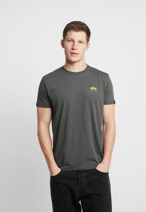 BASIC SMALL LOGO - Basic T-shirt - charcoal heather