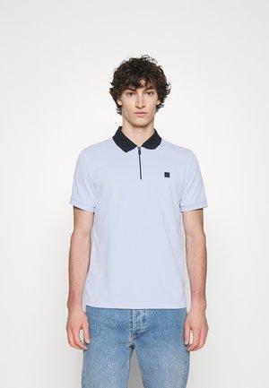 HALF ZIP SPORT - Polo shirt - dusty sky