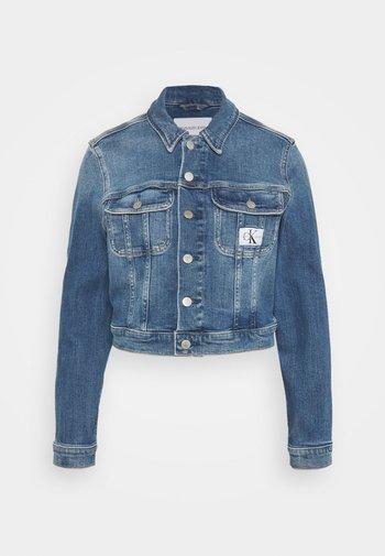 CROPPED JACKET - Denim jacket - denim light