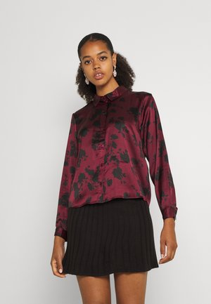 JDYFIFI LIFE SHORT SHIRT - Button-down blouse - windsor wine