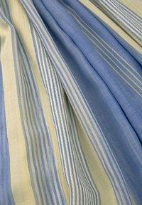 TOM TAILOR DENIM - Scarf - creme yellow structured stripe - 1