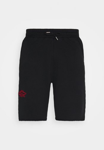 Shorts - faded black/red