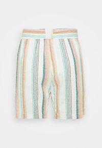 ONLY Carmakoma - CARSTACYI - Shorts - desert sage/multi stripes - 6