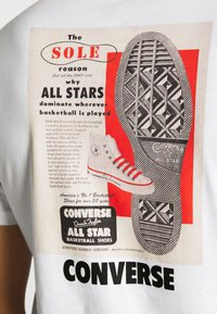Converse - ALL STAR  ARCHIVE TEE - T-shirt con stampa - white - 5