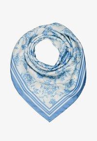 Lauren Ralph Lauren - ALEXA - Foulard - cream / toile blue - 0