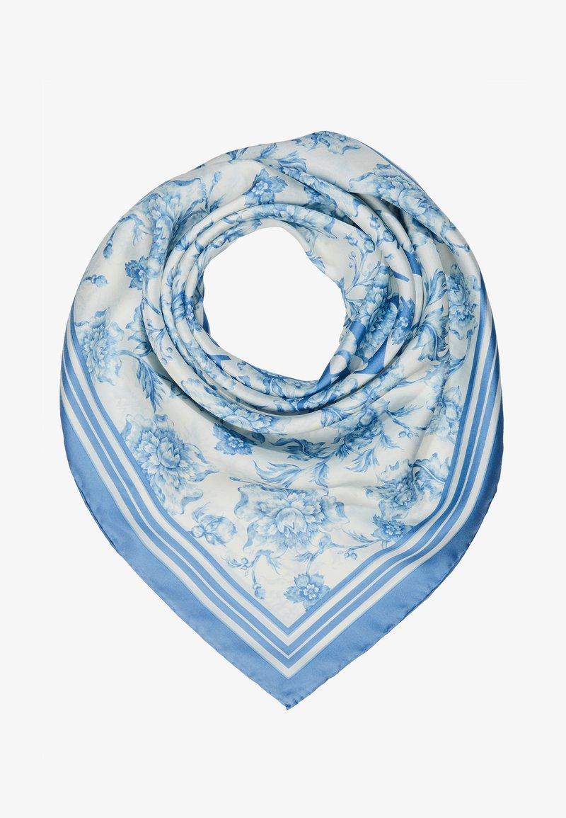 Lauren Ralph Lauren - ALEXA - Foulard - cream / toile blue