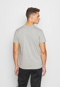 adidas Performance - PRIMEGREEN TRAINING SPORTS SHORT SLEEVE TEE - Print T-shirt - metal grey - 2