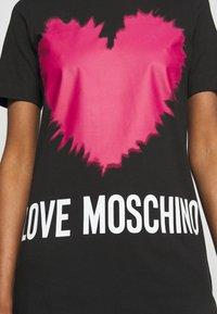 Love Moschino - Jersey dress - black - 5