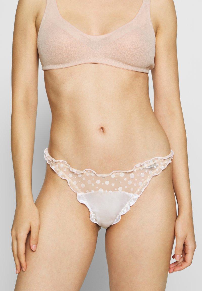 Le Petit Trou - BRIEFS RICHELLE - Slip - nude/white
