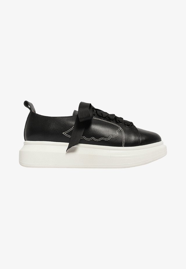 KEEP IT CASUAL FLY - Baskets basses - black