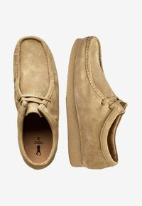 Next - STONE WALLABEE - Casual lace-ups - beige - 1