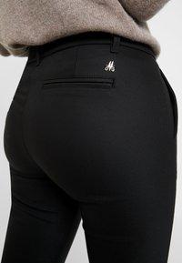 Mos Mosh - BLAKE NIGHT PANT SUSTAINABLE - Trousers - black - 6