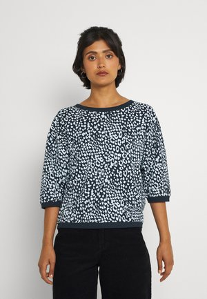 NUBRIDGHE TEE - Sweater - dark sapphire