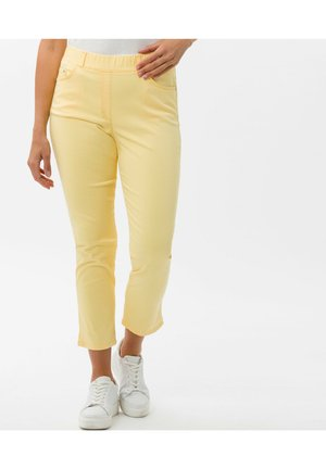 Trousers - light yellow