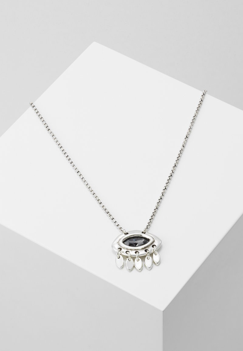 UNOde50 - MY LUCK EYE NECKLACE - Collana - silver-coloured
