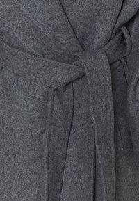 Weekday - KIA BLEND COAT - Zimní kabát - antracit melange - 5