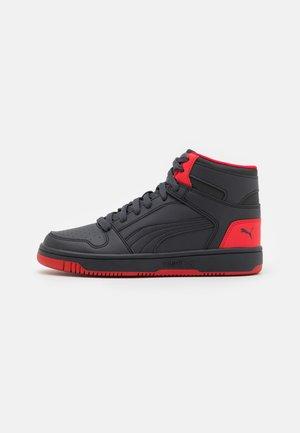 REBOUND LAYUP JR - Zapatillas altas - phantom black/urban red
