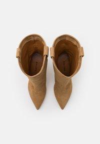 Pura Lopez - Cowboy/Biker boots - beige - 4