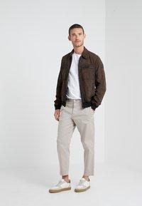BOSS - JOAST - Leather jacket - brown - 1