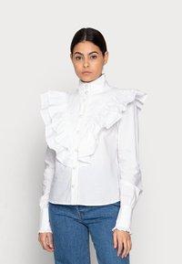 Custommade - BIBI - Bluzka - bright white - 0