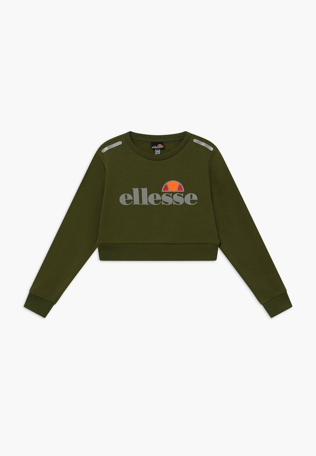 MARAFON CROPPED - Sweatshirt - khaki