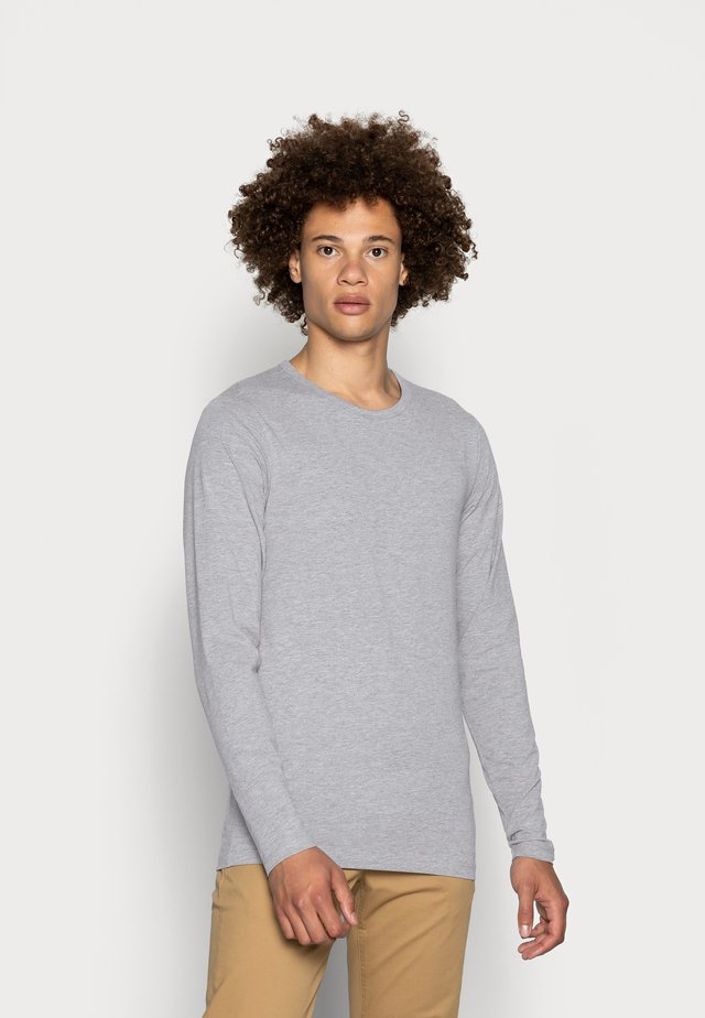 JJBASIC  - Long sleeved top - light grey