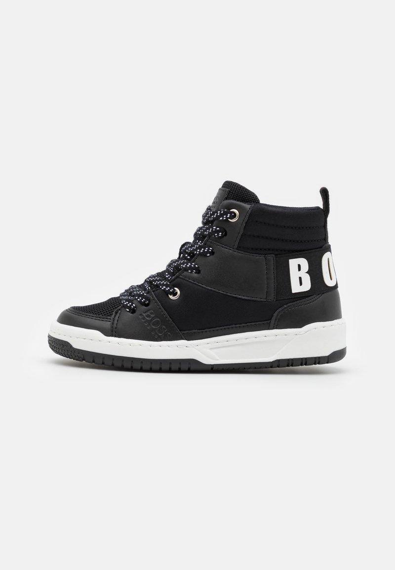 BOSS Kidswear - TRAINERS - High-top trainers - black