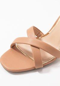 Head over Heels by Dune - MADIHA - High heeled sandals - nude - 2
