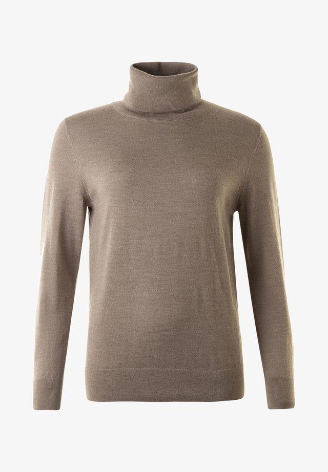 Sweatshirt - taupe mel.