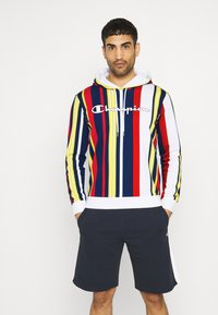 Champion - HOODED  - Sweatshirt - white/allover - 0
