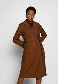 More & More - COAT LONG - Trench - nougat - 0