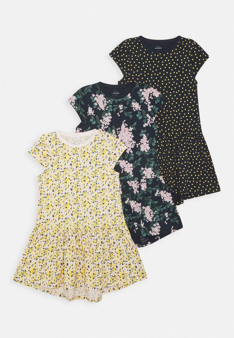 Name it - NKFVIGGA CAPSL DRESS 3 PACK - Jersey dress - multi-coloured