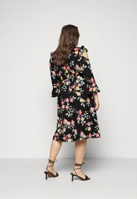 Simply Be - WRAP DRESS - Day dress - black - 2