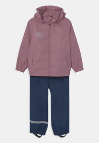 Color Kids - RAIN SET UNISEX - Waterproof jacket - dusky orchid - 0
