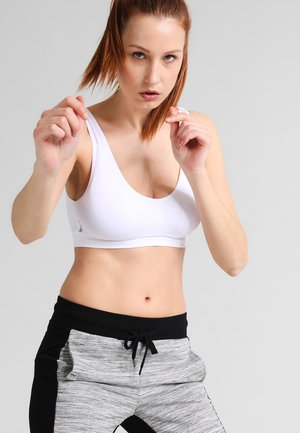 ONPMIRA SEAMLESS SPORTS BRA OPUS - Sports bra - white