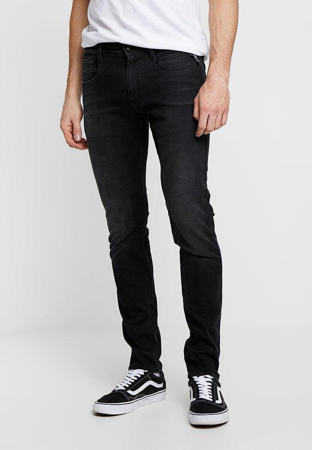 HYPERFLEX PLUS ANBASS - Slim fit jeans - grey denim