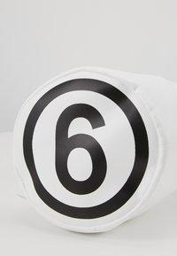 MM6 Maison Margiela - BORSA TRACOLLA - Across body bag - white - 3