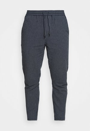 ONSLINUS LIFE CROP TAP PANT - Pantaloni - dress blues