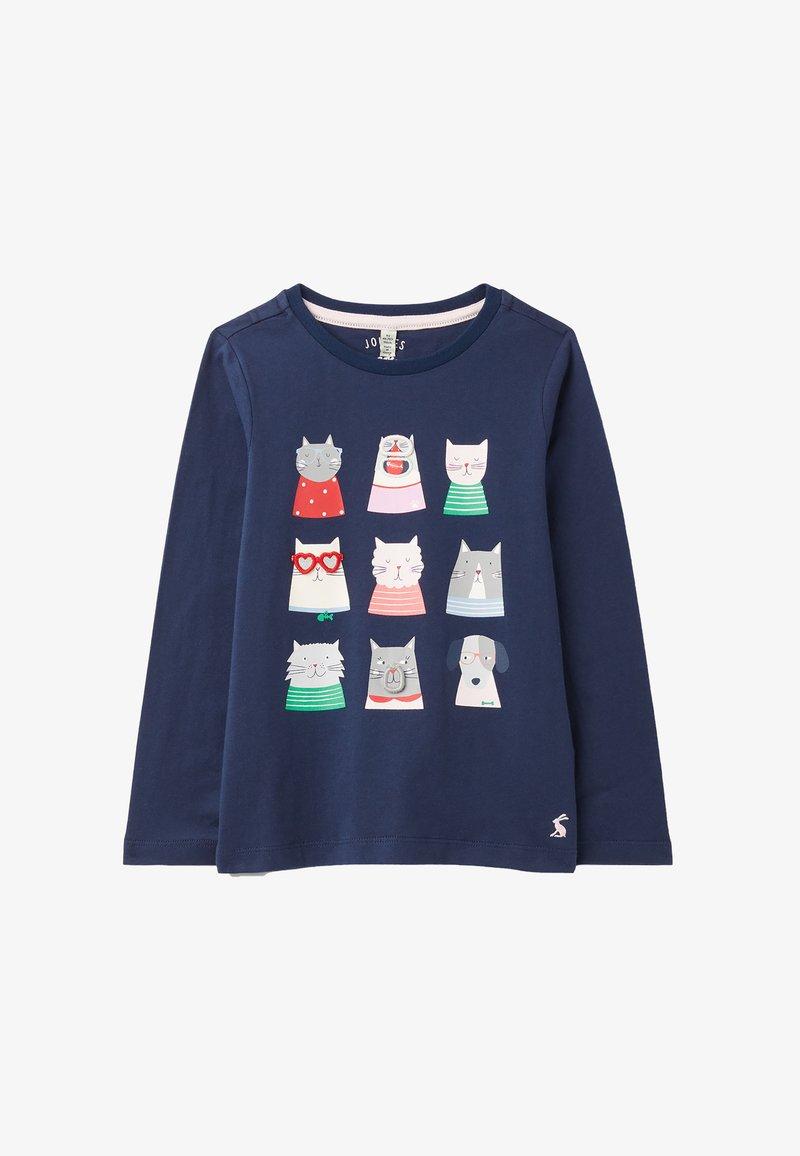 Tom Joule - Sweatshirt - blau neun katzen