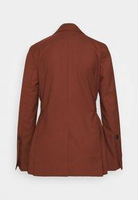 Proenza Schouler White Label - STRETCH SUITING TIE - Krátký kabát - maple - 1