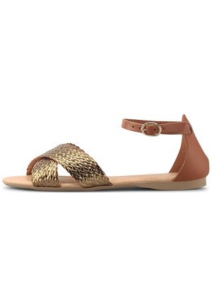 TREND - Sandals - gold