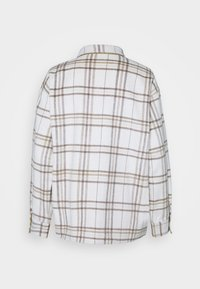 Moss Copenhagen - REETA OVERSHIRT - Summer jacket - beige - 1