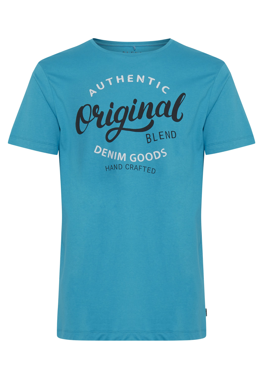 Blend Tee Regular Fit - T-shirt Print Dark Navy Blue
