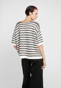 MAX&Co. - PIUMINO - Strickpullover - white pattern - 2