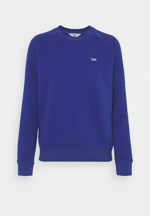 PLAIN CREW NECK - Sudadera - surf blue