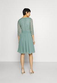 Esprit Collection - PER DRESS - Cocktail dress / Party dress - dark turquoise - 2